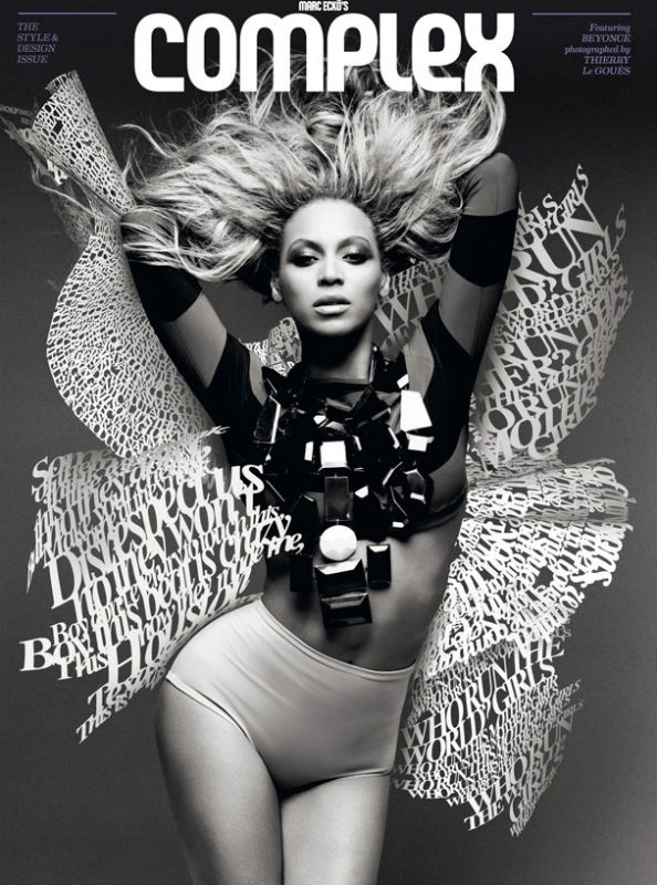 Beyonce for Complex Magazine August/September 2011
