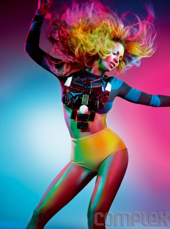 Beyonce for Complex Magazine August/September 2011 5