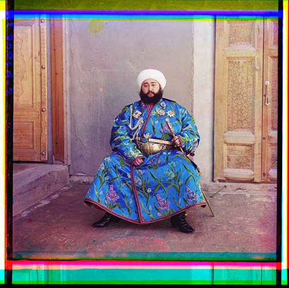 100 Years Old Color Photos of the Russian Empire Emir Bukharskii from Bukhara