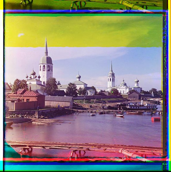 100 Years Old Color Photos of the Russian Empire Novaia Ladoga