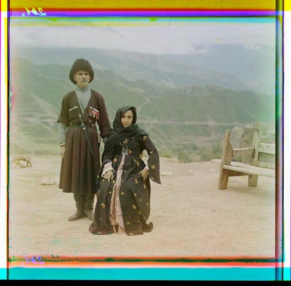 100 Years Old Color Photos of the Russian Empire Dagestani People