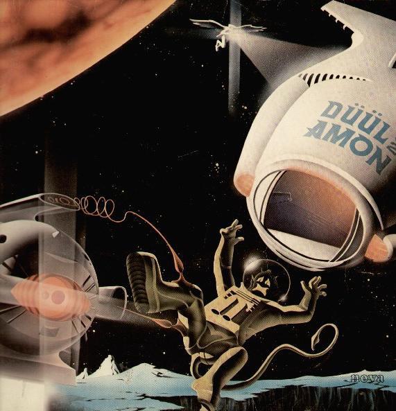 Astronaut Album Covers Amon Duul ii Hi-Jack