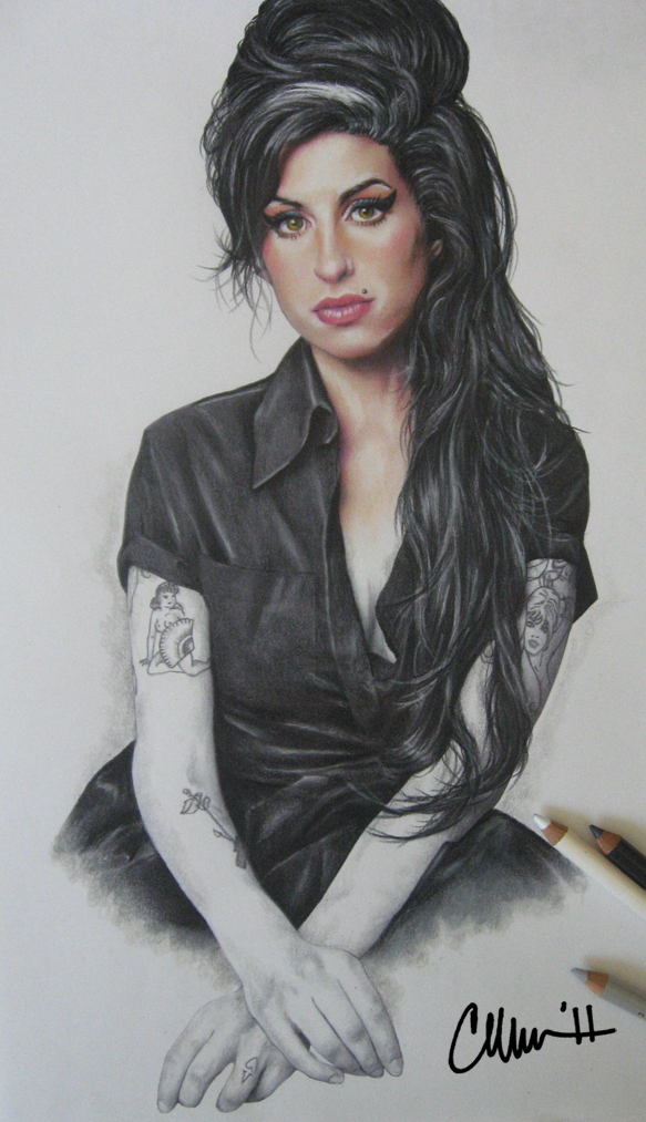 Amy Winehouse Fan Art Drawing