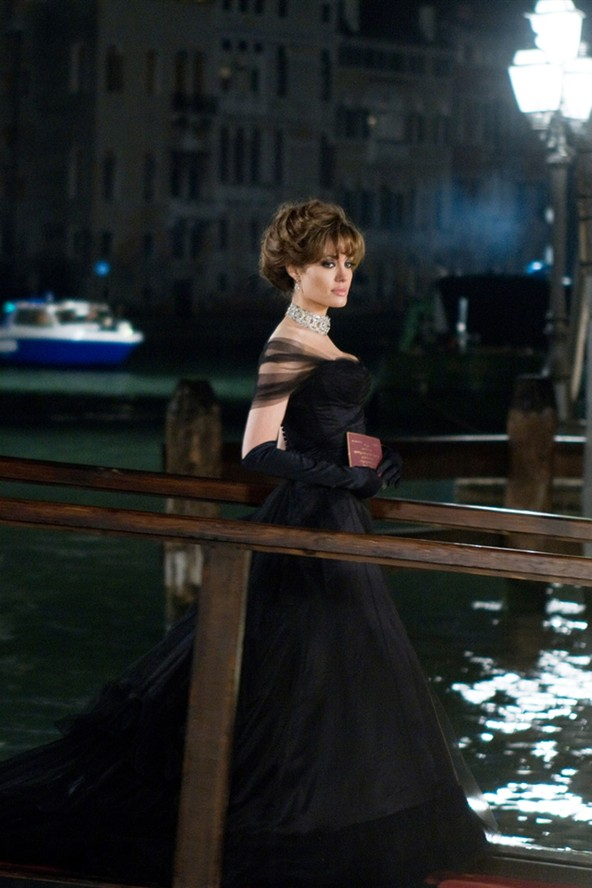 Angelina Jolie The Tourist Black Gown