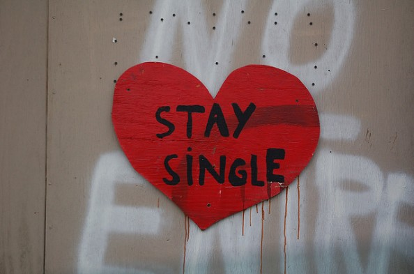 Anti Valentines day heart