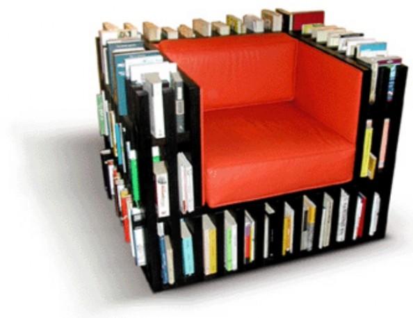 Armchair Bookshelf