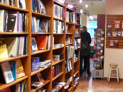 Bestsellers Bookstore Budapest
