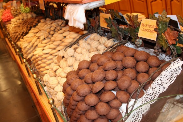 Biscuits in a Brussels Sweets Market