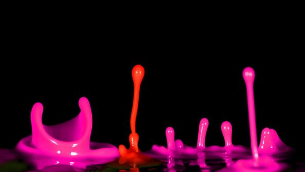 Coloured Water Drops
