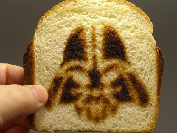 Darth Vader French Toast