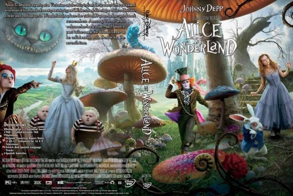Alice in Wonderland by Disney DVD cover
