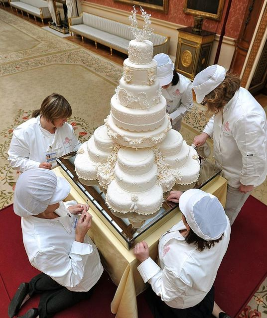 England Royal Wedding Cake 2011