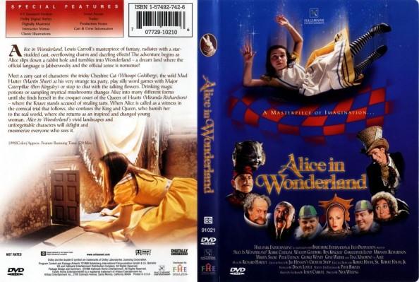 Alice in Wonderland by Hallmark DVD cover