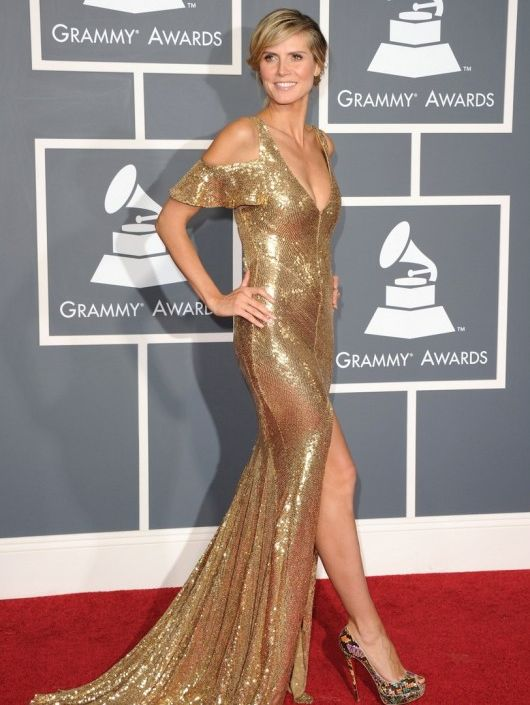 Heidi Klum at 2011 Grammy Awards Ceremony