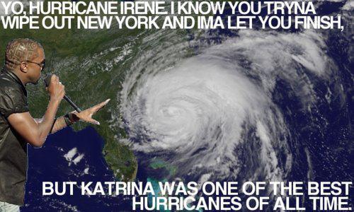 Hurricane Irene Kanye