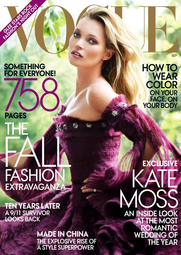 Kate Moss Vogue US September 2011