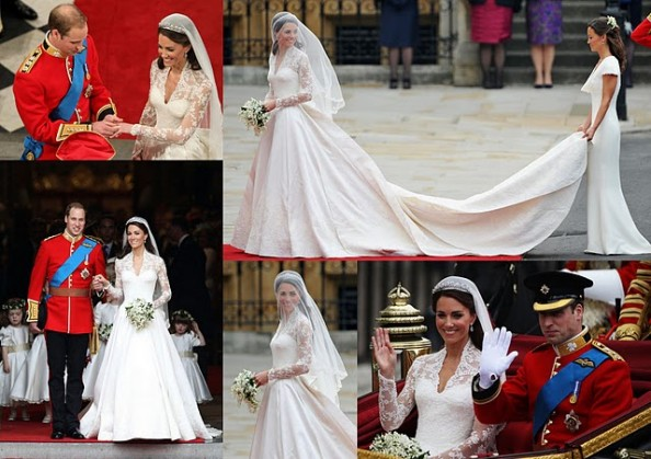 Kate William Royal Wedding Church