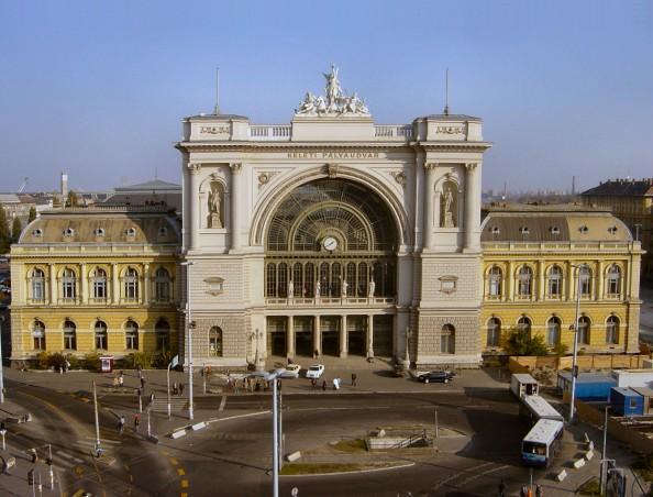 Keleti Trainstation Budapest