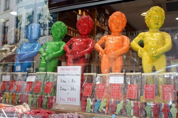 Manequin Chocolates in Brussels