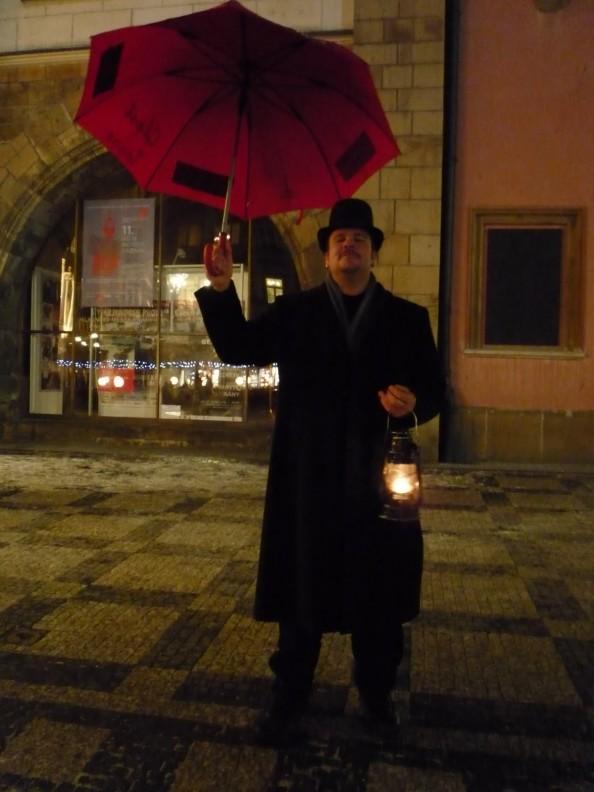 McGhee Haunted Tour Guide in Prague