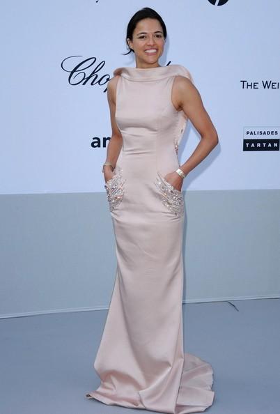 Michelle Rodriguez amfAR Cinema Against AIDS Gala Cannes 2011