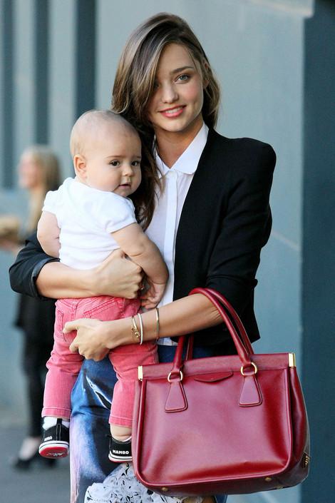 Miranda Kerr and Baby Flynn