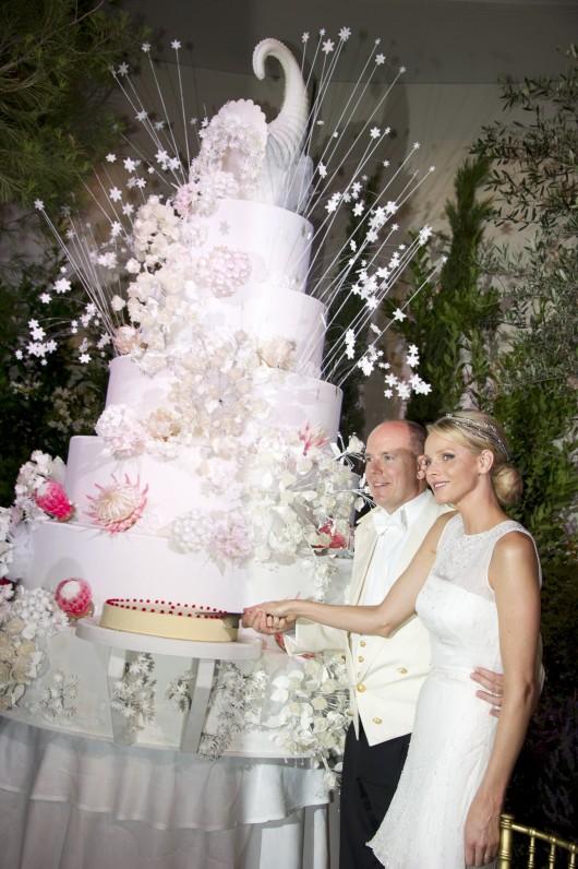 Monaco Royal Wedding Cake 2011