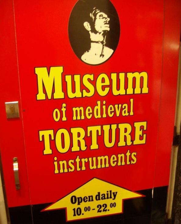 Museum of Medieval Torture Instruments in Prague