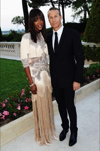 Naomi Campbell amfAR Cinema Against aids Cannes 2011