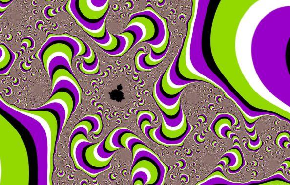 Optical Illusion Static Picture