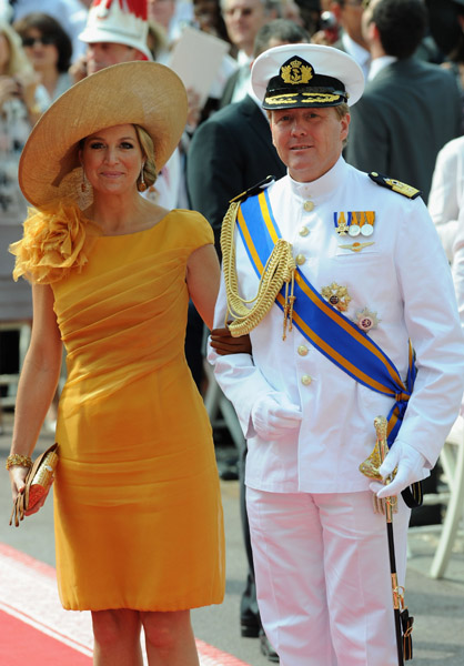 Princess Maxima of Netherland and Sophie Countess of Wessex at Monaco Royal Wedding