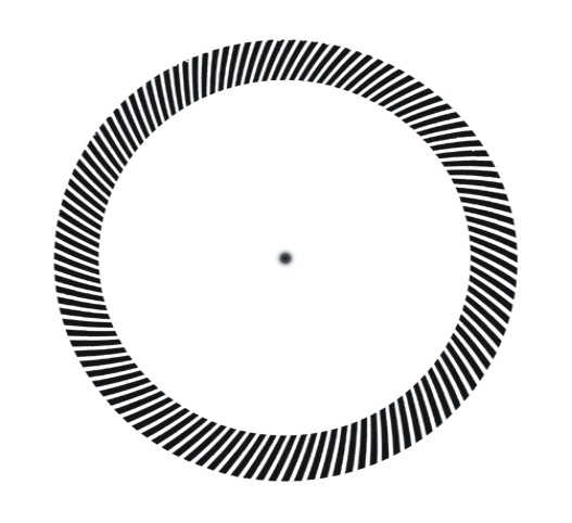 Rotating Tilted Line Illusion