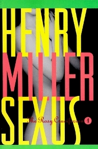 Sexus by Henry Miller Book Cover
