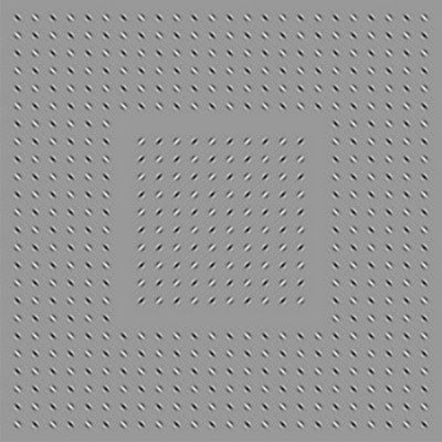 Shakey Squares Optical Illusion