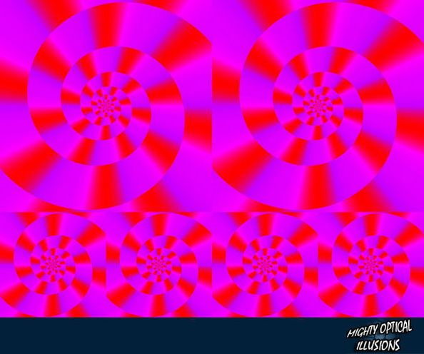 Spiral Optical Illusion