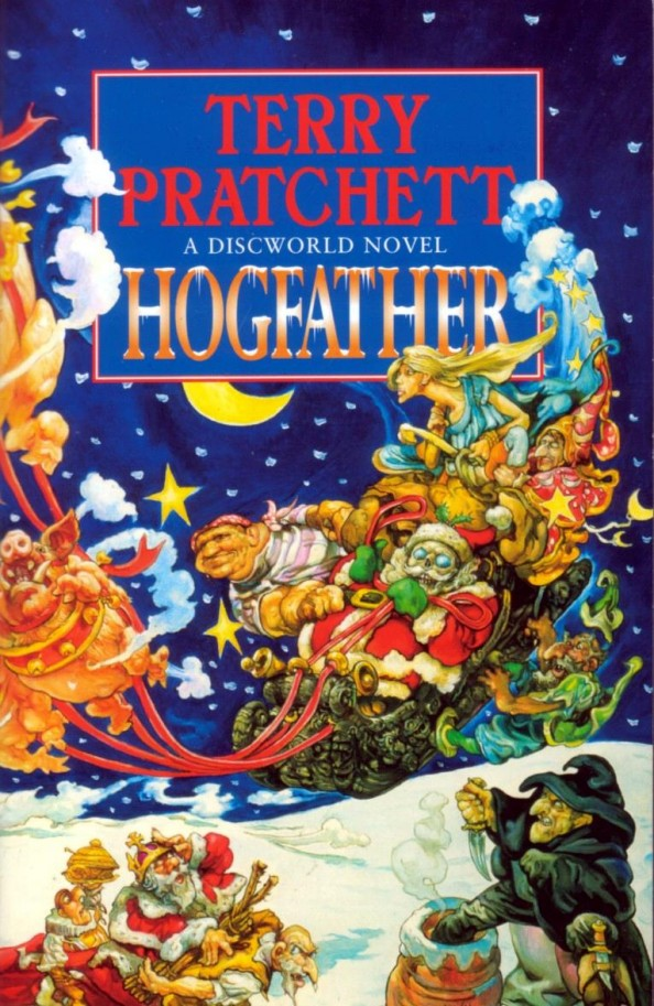 The Hogfather by Terry Pratchett Book Cover