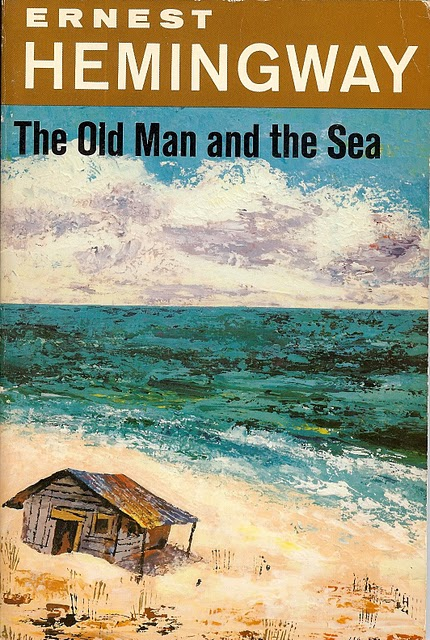 The Old Man and the Sea by Ernest Hemingway Book Cover