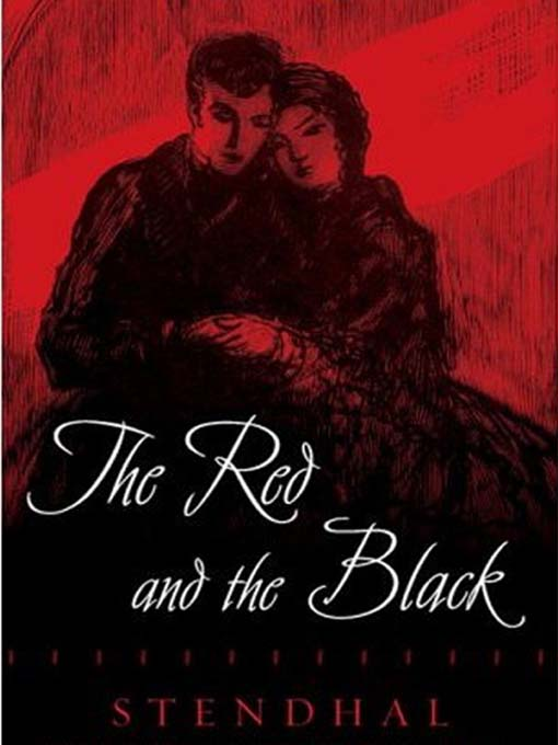 The Red and the Black by Stendhal Book Cover