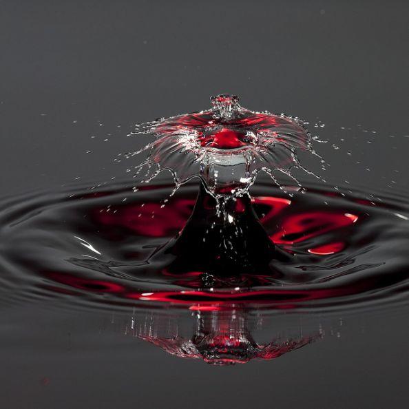 Water Drop by IR Cincy Jim