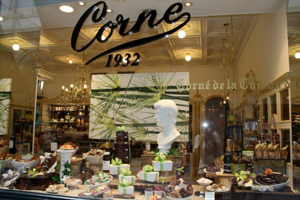Window Display Confectionery in Brussels