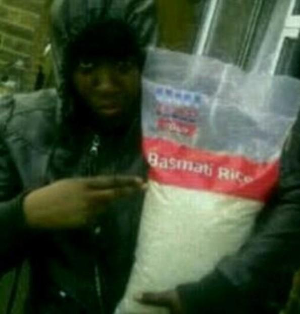 Basmati Rice Looting in London