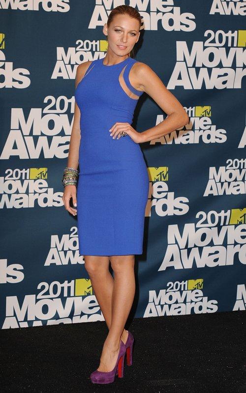 blake lively mtv movie awards 2011