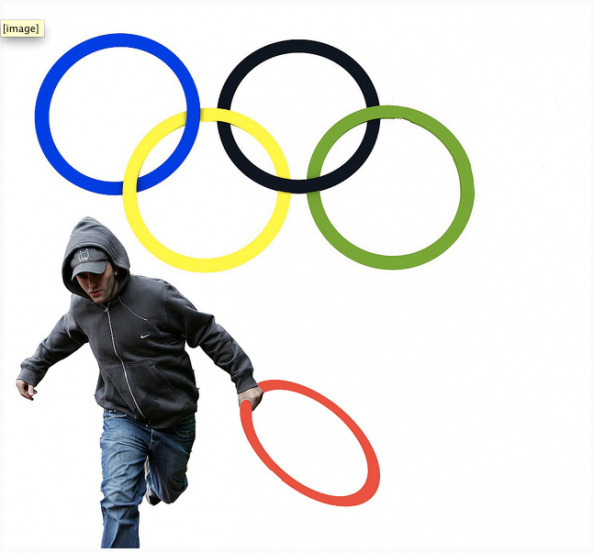 New London Olympics Logo After Riots