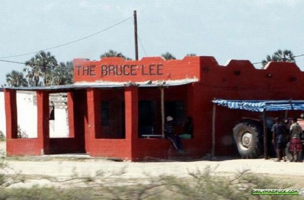 African Bars Bruce Lee