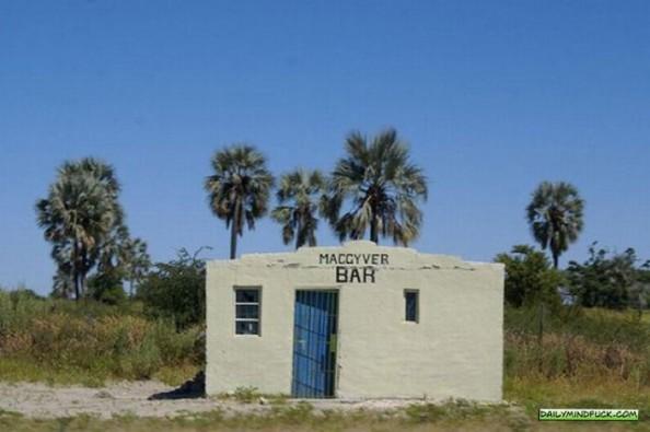 African Bars MacGyver