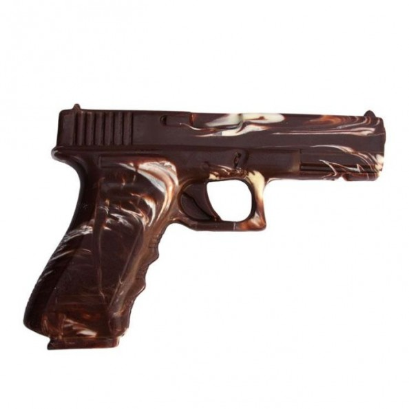 Chocolate Weapons Gun2