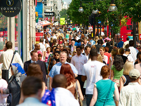 7 Ways to Have a More Productive Day Crowded street