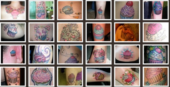 Inspired by Cupcakes - cupcakes tattoos