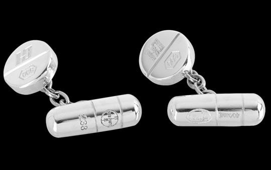 Damien Hirst Pills Cufflinks