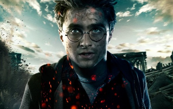 Harry Potter and the Deathly Hallows Part 2 books turned into movies